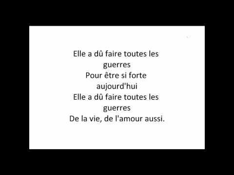 Shakira - Je l'aime a mourir ( La Quiero A Morir ) Lyrics