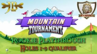 Golf Clash, Rookie Playthrough (Quick)  Mountain Tournament!
