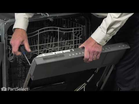 Whirlpool Dishwasher Repair - How to Replace the Door Latch & Switch Assembly (Part # WPW10404412)