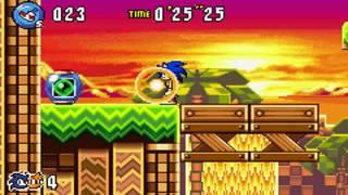 Sonic Advance 3 - Zone 2: Sunset Hill - [Act 1/2/3 & VS Boss]