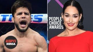 Henry Cejudo shoots his shot with Nikki Bella, she responds | Ariel Helwani's MMA Show