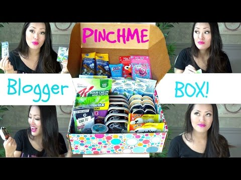 Pinchme Blogger Box Unboxing + Review! Get FREE SAMPLES!