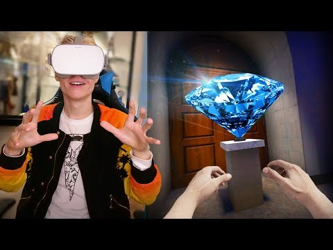 VIRTUAL REALITY MUSEUM HEIST!  | Covert: VR Co-Op (Oculus Go Gameplay) Mp3