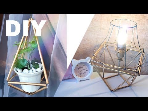Поделки из коктейльных трубочек – шедевры для дома из бросового материала