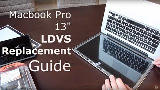 macbook pro lvds cable lcd screen replacement