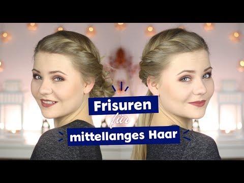Frisuren für mittellange Haare I NIVEA HairStyles mit DominoKati