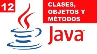 Clases, Objetos y Métodos en Java