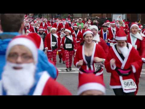 Santa Dash - Glasgow 2016 [4K/UHD]