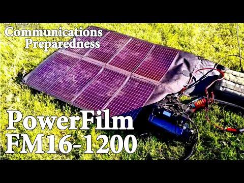 PowerFilm F15-1200 Portable Solar Power for Ham Radio