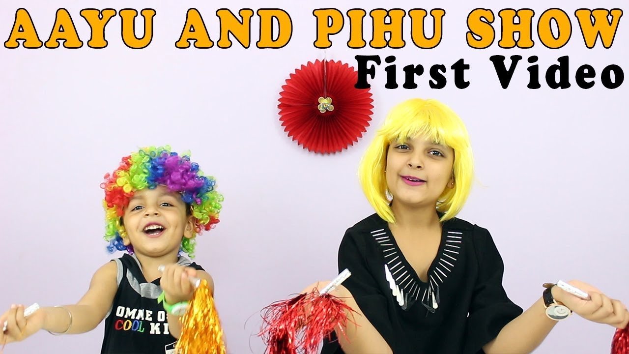 aayu and pihu show first video