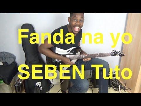 Fanda na yo - seben guitar tutorial - Isaac Sariel