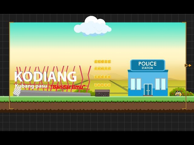 Teaser: Kokdiang Fun Run mobile game