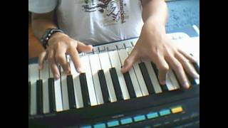 Right Now on PIano - Akon
