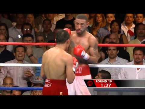 CORRALES VS CASTILLO GREATEST ROUND WITH THE GREATEST ROCKY THEME MUSIC EVER!!!