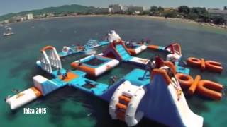Check Out Ibiza's Inflatable Answer To Total Wipeout - Adrenaline Junkies Won't Be Able T