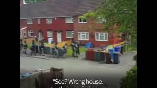 Watch moment UK army Raid Terrorist House