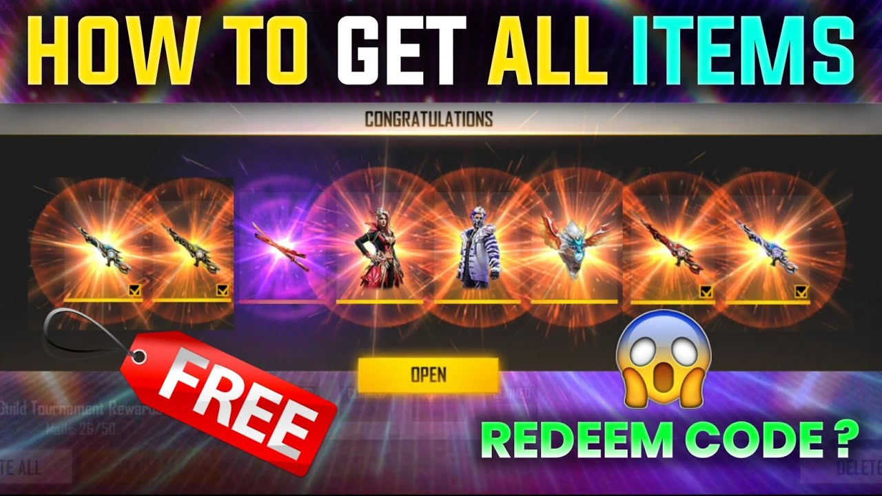 HOW TO GET ALL RAMPAGE ITEMS    FREE FIRE REDEEM CODE    RAMPAGE 3.0 FREE FIRE    RAMPAGE NEW DAWN