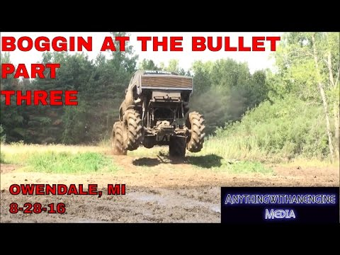 BOGGIN' AT THE BULLET PART THREE  SILVER BULLET SPEEDWAY, OWENDALE, MICHIGAN 8 28 16