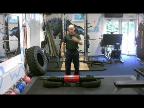 Strongman Log Lift Technique Demo - Andy