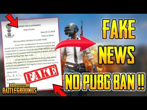 PUBG Will Never Get Banned | Good News EveryOne Must Watch (With Proof)