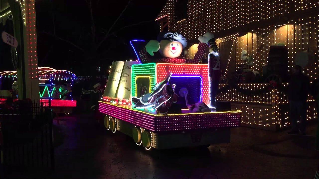 Dollywood - Christmas Parade - 2015 - YouTube