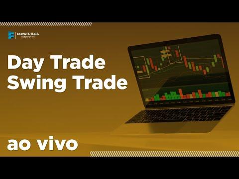 Day Trade e Swing Trade AO VIVO - Mini Dólar, Mini Índice e Ações – Nova Futura 25/03/2020