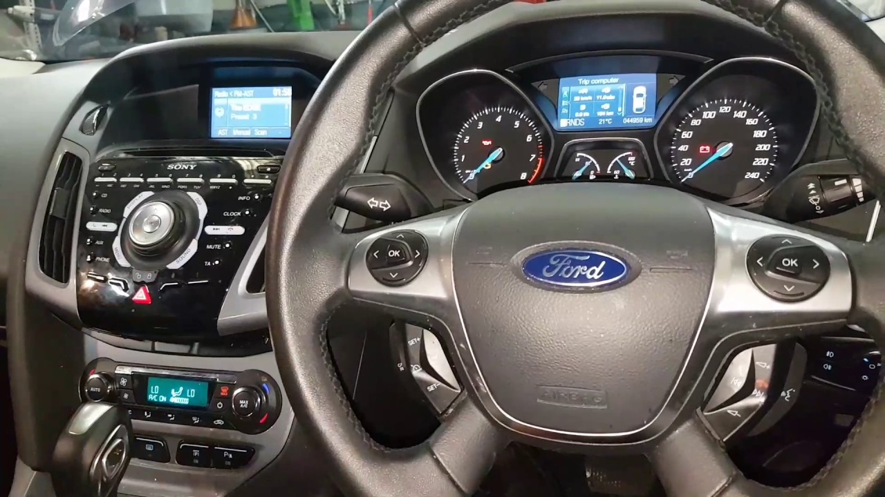Ford Focus Oil Change Service Reset Ford Focus Change Oil Light Oil Change Reset