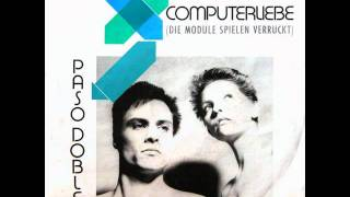 "Paso Doble - Computerliebe 12"" Extended Maxi Version"