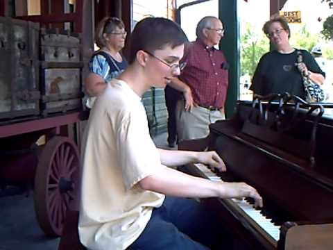 Adam Swanson ORANGE BLOSSOM SPECIAL|Central PA Ragtime Festival @EBT|June 19 2010|street piano