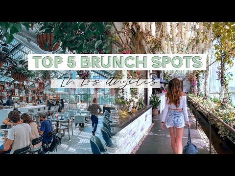 Best Trendy Restaurants In Los Angeles, California | Top Instagrammable Brunch Spots In LA