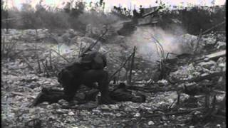 ACTION AT PELELIU, PALAU GROUP, WEST CAROLINE ISLANDS, WEST PACIFIC ; US TROOPS AT SALERNO, ITAL...