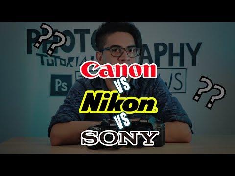Qué Cámara Me Compro?!! Canon Vs Nikon....vs SONY!!!!