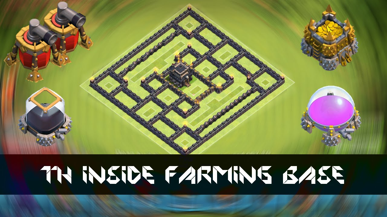 Th9 farming base th inside preparing for th11 update youtube