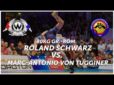 RINGEN - DMM FINALE (Rückkampf)  - 80kg GR - Roland Schwarz Vs. Marc-Antonio Von Tugginer