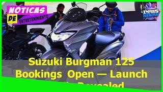 Suzuki Burgman 125 Bookings Open — Launch Details Revealed - Car News