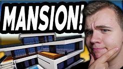BYGGER EN MANSION?! - Minecraft Exelon