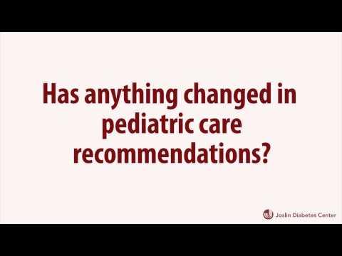 ADA Type 1 Diabetes Position Statement Changes A1C Recommendations for Pediatric Patients