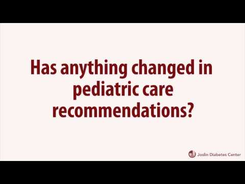 ADA Type 1 Diabetes Position Statement Changes A1C Recommendations for Pediatric Patients