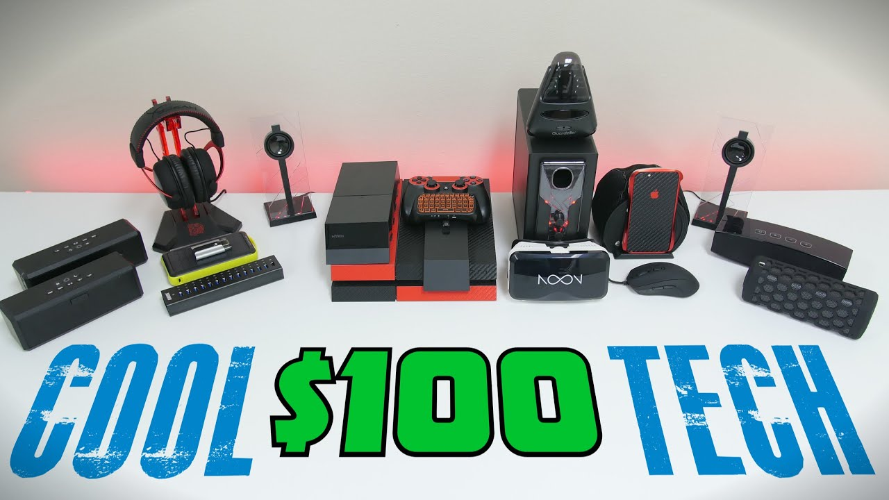 Cool Technology Gifts 2015 Cool Tech Under 100 September Youtube