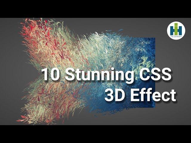 Impossible 10 CSS 3D  Effect   কিছু অসাধারণ সিএস এস । Web Designing   2019 Advance Css effect  