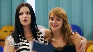 Soy Luna 2  Gastón and Delfi rehearse the new step (ep.77) (Eng. subs)