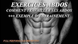 Exercices abdos - Entraînement abdominaux niveau 3