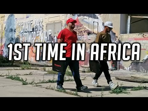 Portablist in Morocco - 1st time in Africa (Portablism Culture - PT01 Scratch Portable Turntable)