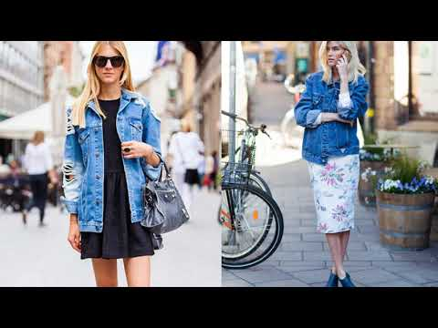 видео: стиль имеет значение джинсовая куртка