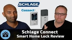 Best Smart Lock Review: The Schlage Connect Z-Wave Lock Works Great with Wink, SmartThings & Indigo