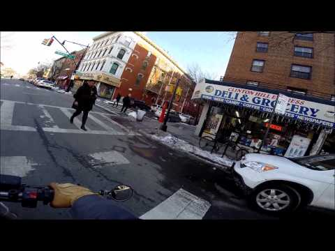 Ducati NYC Vlog 45 - Ft Greene and Clinton Hill. Seasick on Dunes.