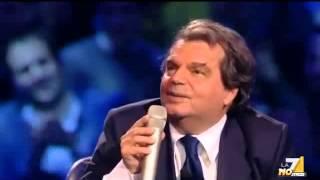 Alterco in diretta, Santoro a Brunetta: ''Ma vada a...'