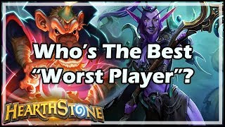 """Who's The Best """"Worst Player""""? - Boomsday / Hearthstone"""