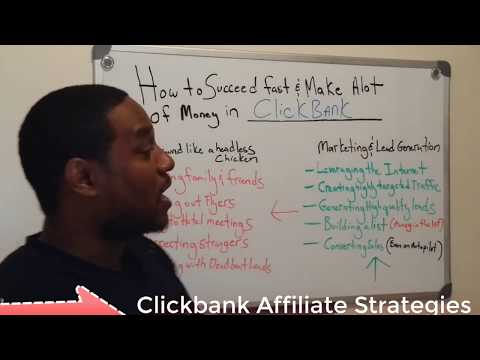 Clickbank Affiliate Training- 5 Ways Anyone Can Cash In Being A Clickbank Super Affiliate