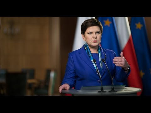 Speech of Prime Minister Beata Szydło [English subtitles]
